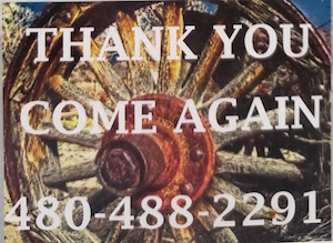 thank you for visiting Wagon Wheel Restaurant